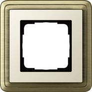 Gira ClassiX Бронза/Кремовый Рамка 1-ая(0211623)