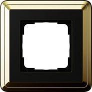 Gira ClassiX Латунь/Черный Рамка 1-ая(0211632)