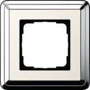 Gira ClassiX Хром/Кремовый Рамка 1-ая(0211643)
