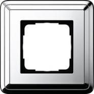 Gira ClassiX Хром/Хром Рамка 1-ая(0211641)