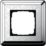 Gira ClassiX Art Хром/Хром Рамка 1-ая(0211681)