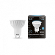 Лампа Gauss LED GU10 5W 4100K