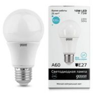 Лампа Gauss LED E27 10W 220V 4100K