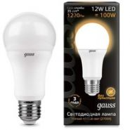 Лампа Gauss LED E27 12W 2700K