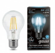 Лампа Gauss LED E27 6W 4100К