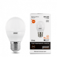 Лампа Gauss LED 8W E27 2700K